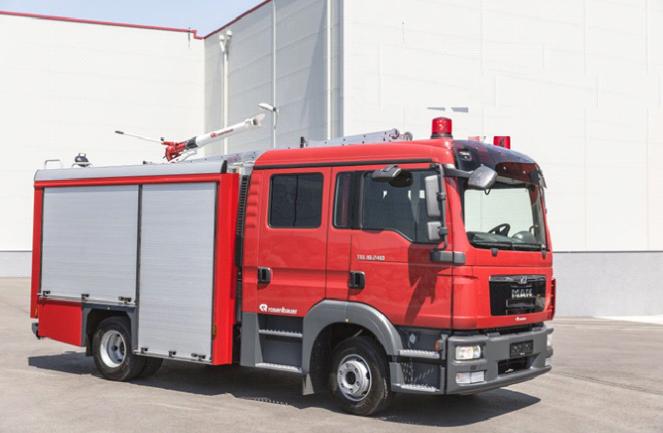 Cung cấp xe chữa cháy lắp ráp tại Việt Nam